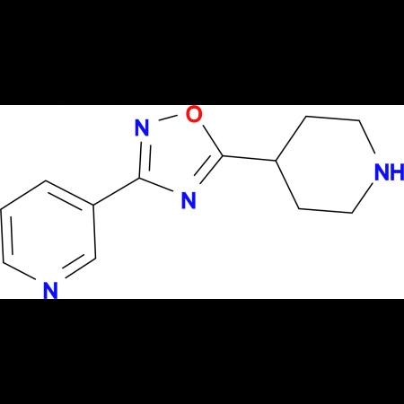 3-(5-Piperidin-4-yl-1,2,4-oxadiazol-3-yl)pyridine