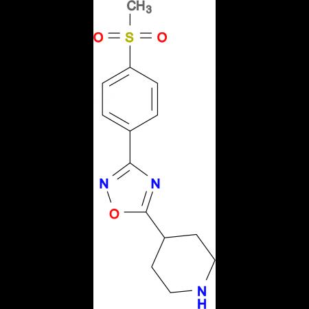 4-{3-[4-(Methylsulfonyl)phenyl]-1,2,4-oxadiazol-5-5-yl}-piperidine