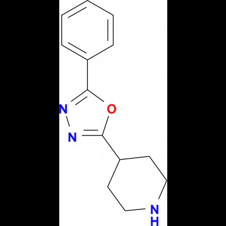 4-(5-Phenyl-1,3,4-oxadiazol-2-yl)piperidine