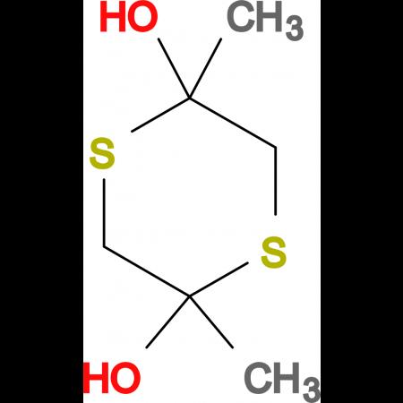 2,5-Dihydroxy-2,5-dimethyl-1,4-dithiane