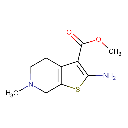 Methyl 2-amino-6-methyl-4,5,6,7-tetrahydrothieno-[2,3-c]pyridine-3-carboxylate