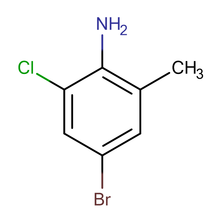 4-Bromo-2-chloro-6-methylaniline