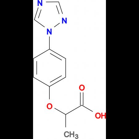 2-(4-[1,2,4]Triazol-1-yl-phenoxy)-propionic acid