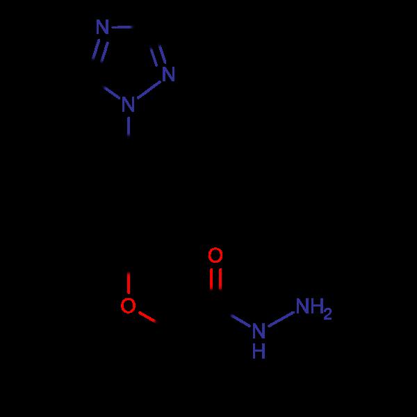 2-[4-(1H-1,2,4-Triazol-1-yl)phenoxy]propionohydrazide