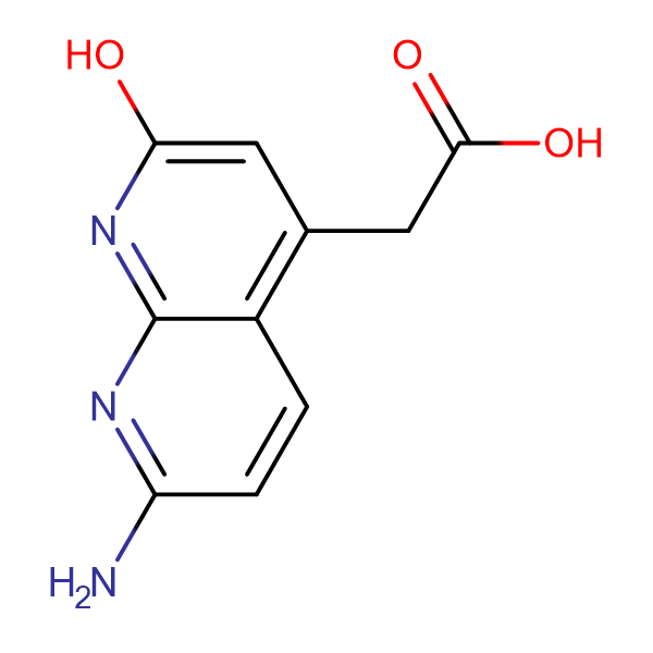 2-(7-Amino-2-hydroxy[1,8]naphthyridin-4-yl)-acetic acid
