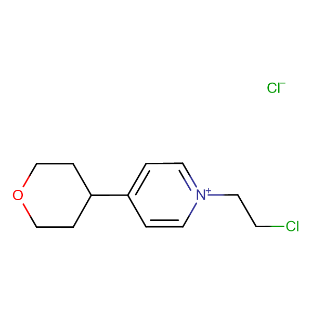 1-(2-Chloro-ethyl)-4-(tetrahydro-pyran-4-yl)-pyridinium chloride