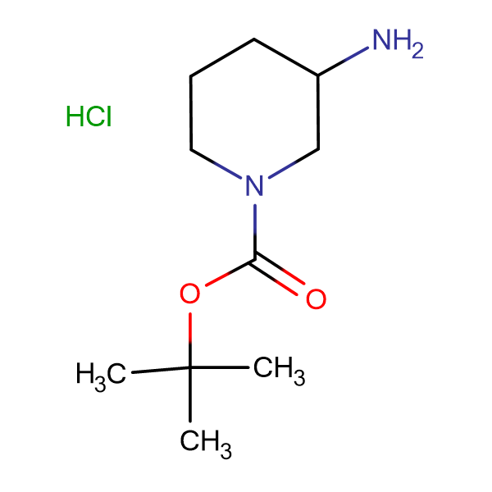 3-Amino-1-tert-butoxycarbonyl-piperidine hydrochloride