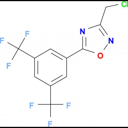 5-[3,5-Bis(trifluoromethyl)phenyl]-3-(chloromethyl)-1,2,4-oxadiazole