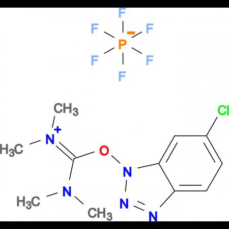 1-(Bis-dimethylamino-methylene)-5-chloro-3-oxy-1H-benzotriazol-1-ium hexafluorophosphate
