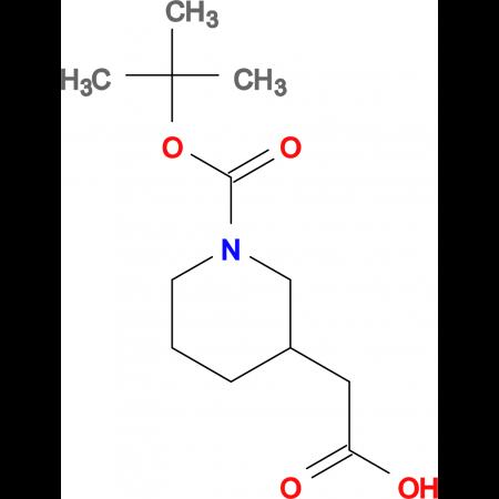 (1-tert-Butoxycarbonyl-piperidin-3-yl)-acetic acid