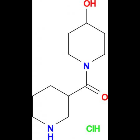 (4-Hydroxy-piperidin-1-yl)-piperidin-3-yl-methanone hydrochloride