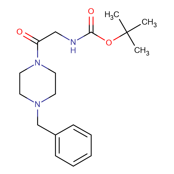 (2-[4-Benzyl-piperazin-1-yl]-2-oxo-ethyl)-carbamic acid tert-butyl ester
