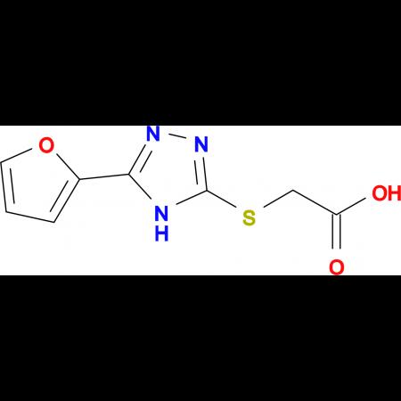 (5-Furan-2-yl-4H-[1,2,4]triazol-3-ylsulfanyl)-acetic acid