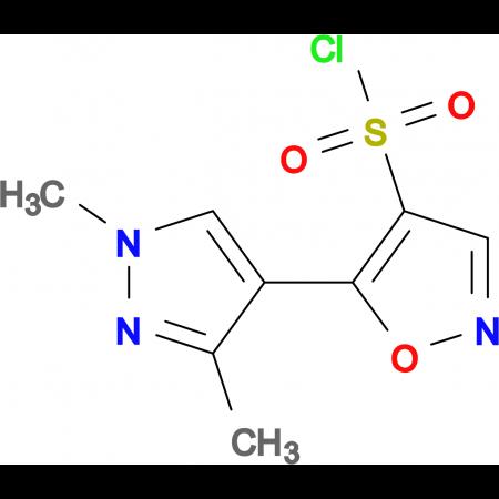 5-(1,3-Dimethyl-1H-pyrazol-4-yl)-isoxazole-4-sulfonyl chloride