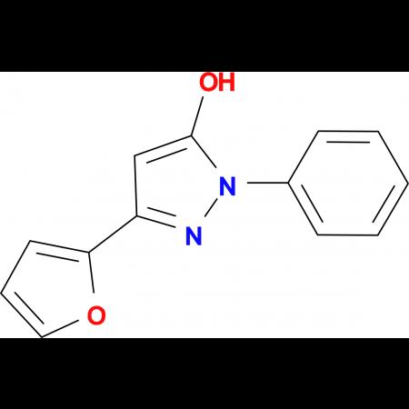 5-Furan-2-yl-2-phenyl-2H-pyrazol-3-ol