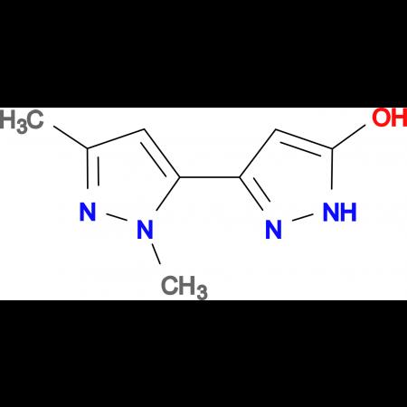2',5'-Dimethyl-1H,2'H-[3,3']bipyrazolyl-5-ol