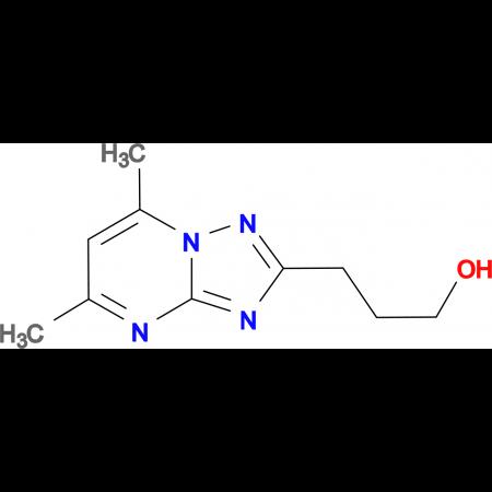 3-(5,7-Dimethyl-[1,2,4]triazolo[1,5-a]pyrimidin-2-yl)-propan-1-ol