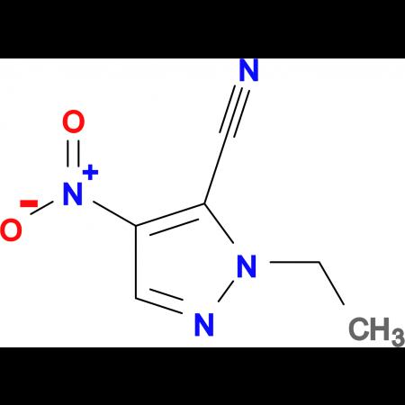 2-Ethyl-4-nitro-2 H -pyrazole-3-carbonitrile