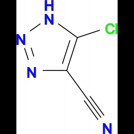 5-Chloro-1H-[1,2,3]triazole-4-carbonitrile