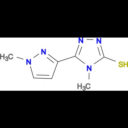 4-Methyl-5-(1-methyl-1H-pyrazol-3-yl)-4H-[1,2,4]triazole-3-thiol
