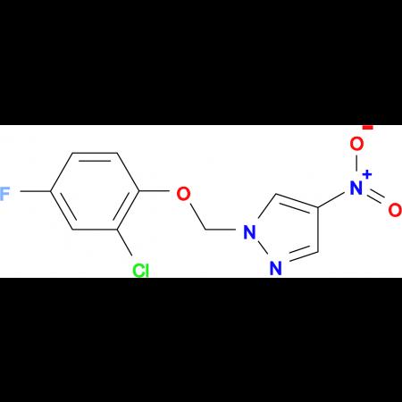1-(2-Chloro-4-fluoro-phenoxymethyl)-4-nitro-1H-pyrazole