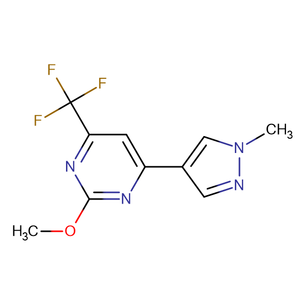 2-Methoxy-4-(1-methyl-1H-pyrazol-4-yl)-6-trifluoromethyl-pyrimidine