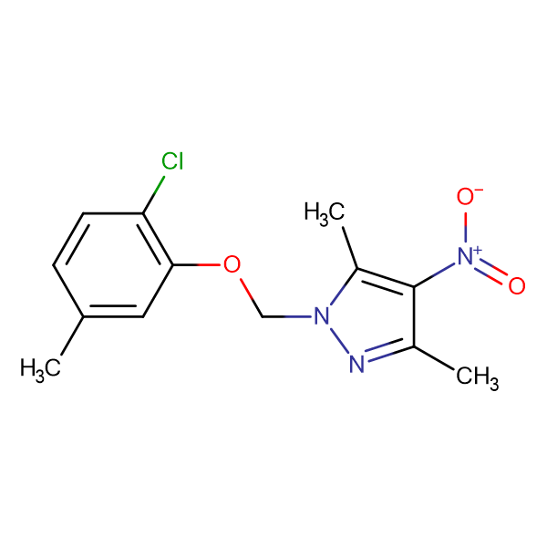 1-(2-Chloro-5-methyl-phenoxymethyl)-3,5-dimethyl-4-nitro-1H-pyrazole