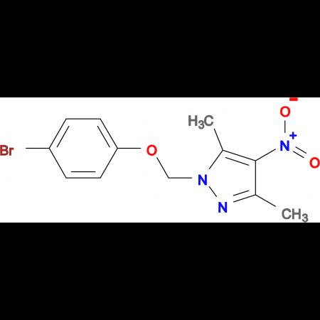 1-(4-Bromo-phenoxymethyl)-3,5-dimethyl-4-nitro-1H-pyrazole