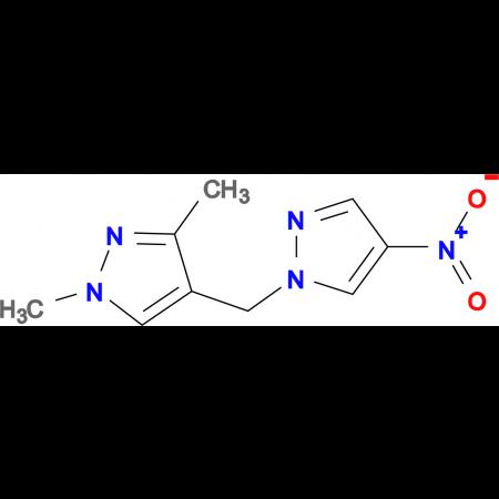 1,3-Dimethyl-4-(4-nitro-pyrazol-1-ylmethyl)-1H-pyrazole