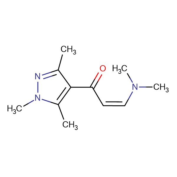 3-Dimethylamino-1-(1,3,5-trimethyl-1H-pyrazol-4-yl)-propenone