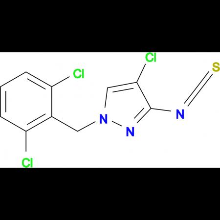 4-Chloro-1-(2,6-dichloro-benzyl)-3-isothiocyanato-1H-pyrazole