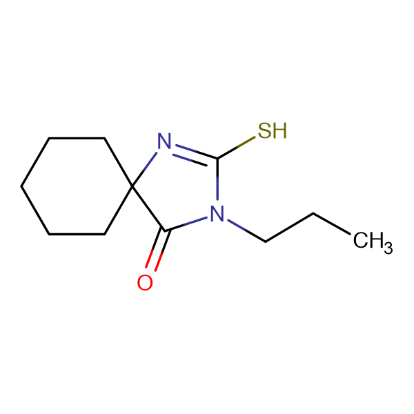 2-Mercapto-3-propyl-1,3-diaza-spiro[4.5]dec-1-en-4-one