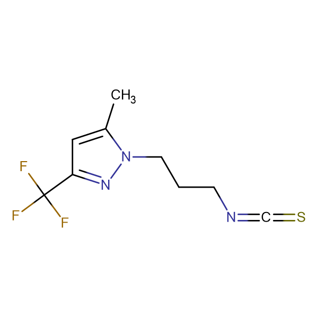 1-(3-Isothiocyanato-propyl)-5-methyl-3-trifluoromethyl-1H-pyrazole