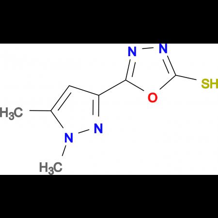 5-(1,5-Dimethyl-1H-pyrazol-3-yl)-[1,3,4]-oxadiazole-2-thiol