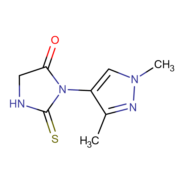3-(1,3-Dimethyl-1H-pyrazol-4-yl)-2-thioxo-imidazolidin-4-one
