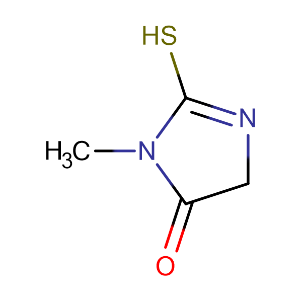 2-Mercapto-3-methyl-3,5-dihydro-imidazol-4-one