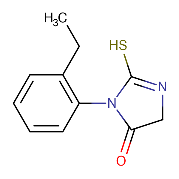 3-(2-Ethyl-phenyl)-2-mercapto-3,5-dihydro-imidazol-4-one