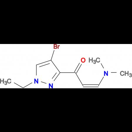 1-(4-Bromo-1-ethyl-1H-pyrazol-3-yl)-3-dimethylamino-propenone