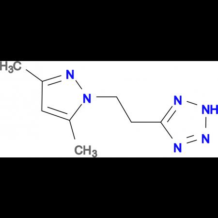 5-[2-(3,5-Dimethyl-pyrazol-1-yl)-ethyl]-2H-tetrazole