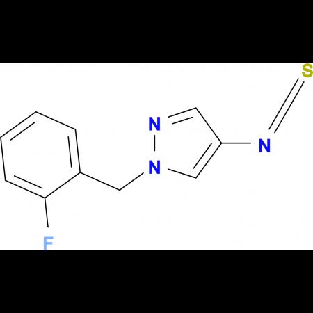 1-(2-Fluoro-benzyl)-4-isothiocyanato-1H-pyrazole