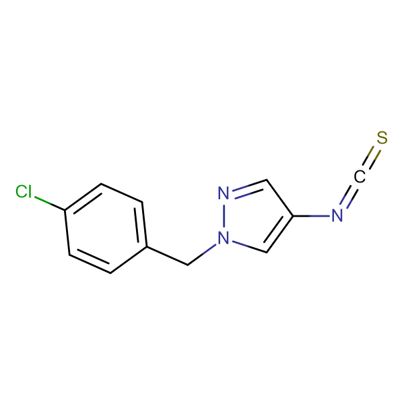 1-(4-Chloro-benzyl)-4-isothiocyanato-1H-pyrazole