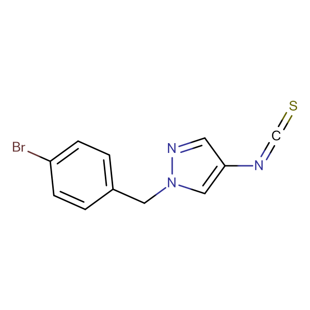 1-(4-Bromo-benzyl)-4-isothiocyanato-1H-pyrazole