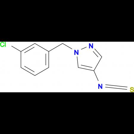 1-(3-Chloro-benzyl)-4-isothiocyanato-1H-pyrazole