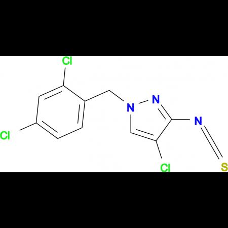 4-Chloro-1-(2,4-dichloro-benzyl)-3-isothiocyanato-1H-pyrazole