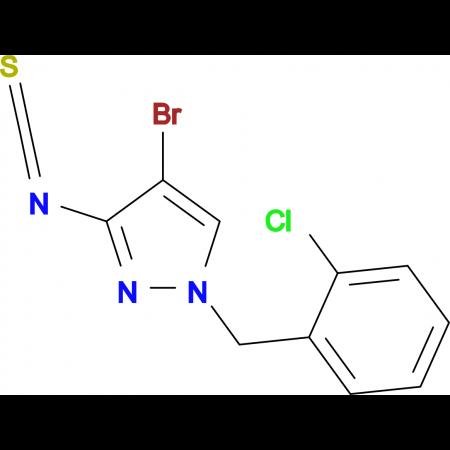 4-Bromo-1-(2-chloro-benzyl)-3-isothiocyanato-1H-pyrazole