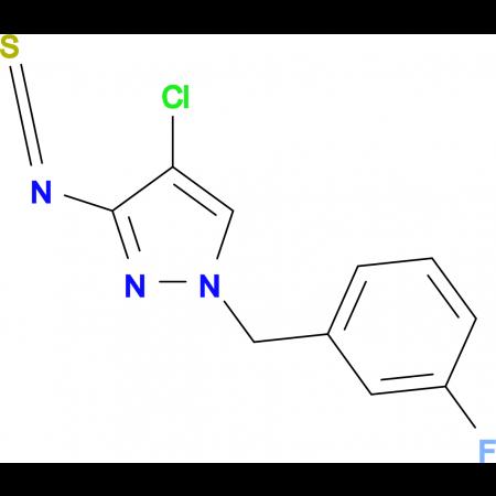 4-Chloro-1-(3-fluoro-benzyl)-3-isothiocyanato-1H-pyrazole
