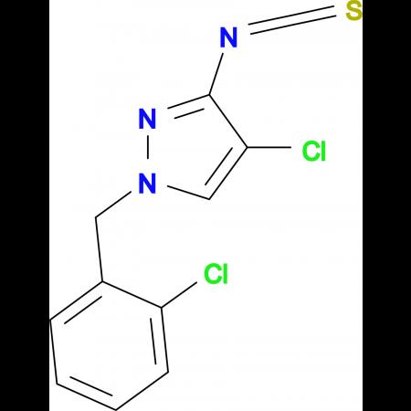 4-Chloro-1-(2-chloro-benzyl)-3-isothiocyanato-1H-pyrazole