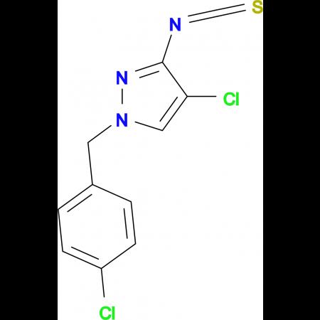 4-Chloro-1-(4-chloro-benzyl)-3-isothiocyanato-1H-pyrazole