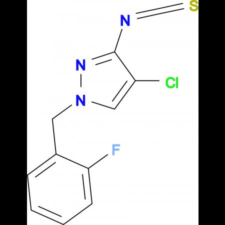 4-Chloro-1-(2-fluoro-benzyl)-3-isothiocyanato-1H-pyrazole