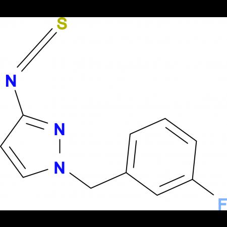 1-(3-Fluoro-benzyl)-3-isothiocyanato-1H-pyrazole